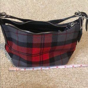 Super cute Coach plaid mini bag